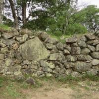 洲本城跡の石垣を視る「石工の見せ場」