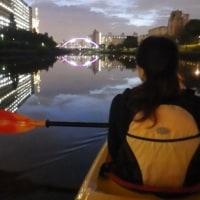 東京水路ナイトパドリング~亀戸地区夏まつり花火見物2016~