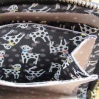 L字ファスナーお財布♪リバティDalmatian dots<B>