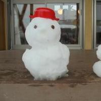 54年ぶりの雪で遊んじゃいました!!