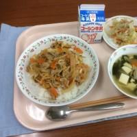 豚キムチ丼 6月14日