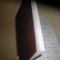 なつかしいノート発見!
