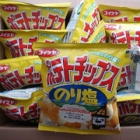 コイケヤポテトチップスのり味