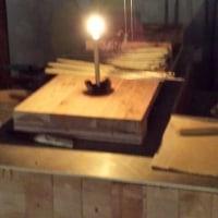和蝋燭作り@スペース∞ゆう