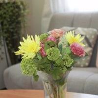 花のキルト&春の花