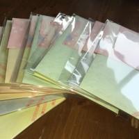 今年も 手作りで・・桜のカード・・・にほんごのへや・・の皆さんへ~