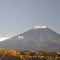 富士山冠雪 米ワールドシリーズ第1戦 インディアンス6-0(8回) 天才大谷君が大活躍