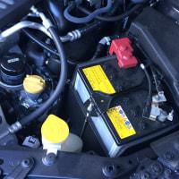 Levorg 2.0GT-Sのバッテリー交換