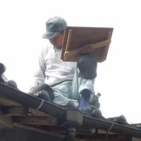 草蒼庵  10日19日 新米  20日 屋根修理  23日 一斉清掃