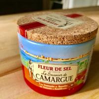 フランス カマルグの塩で鰹のタタキを