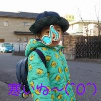 寒いね〜(^O^)
