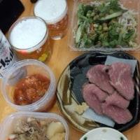 頂き物とお惣菜