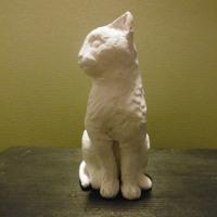 「 ねこ散歩1 」 minne 彫刻 に出品中