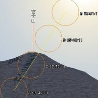 6/20 ダイヤモンド富士(富士白糸ワンダーミュージアム北) → ○