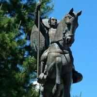 前田利家公銅像