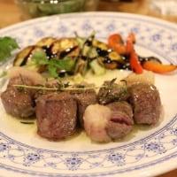 [八頭] こおげの夢豆庵 鹿肉ステーキ