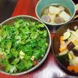 きゅうりとトマトの冷たいスープ・いろいろトッピング