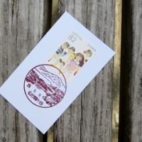 風景印の旅(78):<仙台鶴ケ谷郵便局>ひょうたん沼で白鳥を眺め、「ぱれった」のクッキーをいただく。