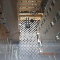 地上絵 新宿NSビル1階床