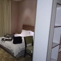 上海のホテル到着です。