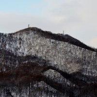 2017.01.20 AM 07:56藻岩山・平和の塔・円山・三角山
