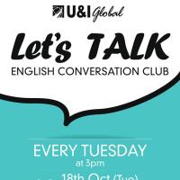 【イベントリポート】第一回Conversation Club開催しました!!
