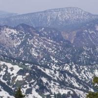 残雪の志賀高原