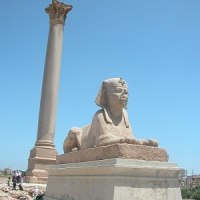 「エジプト・トルコ旅行記」 №127 ポンペイの柱遺跡