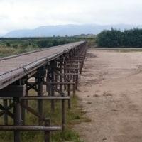 木津川 流れ橋(上津屋橋)