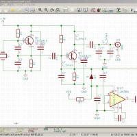 KiCadの回路図で配線してみる。