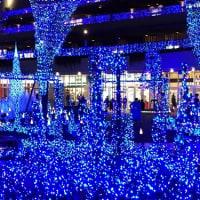 テラスモールのクリスマスライトアップ