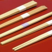 割り箸のマナー