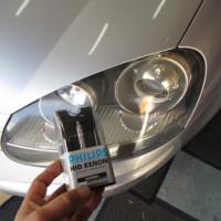 VW GOLF5 HID不灯。