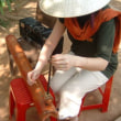 ベトナムの一弦琴