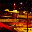 夜のエアポート