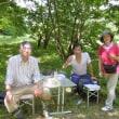 辻川の掃除&ピザ窯のお披露目会