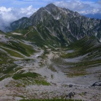憧れの山。