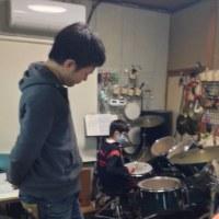 ドラムとピアノを合わせました
