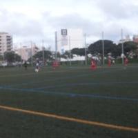 ユンヂチカップ女子8人制サッカー交流大会開幕