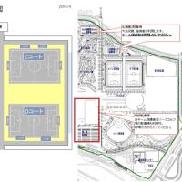 6月18日ジンガ教室、北海道サッカースクールU10の会場図、試合日程