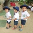 みどり 4歳児 戸外遊び☆プール