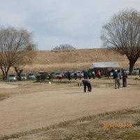 古河リバーサイドマレットゴルフ場へ・・・・・