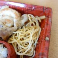 ベントス 生姜焼き弁当 豚の生姜煮(惣菜)。