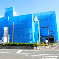 広島県福山市東桜町5‐11・市営東桜町駐車場外壁改修工事