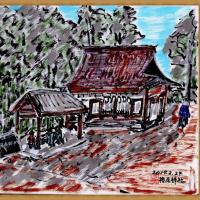 山の辺の道途中 (4)檜原神社