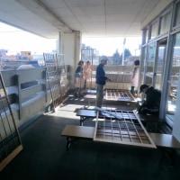 公民館の大掃除、初日