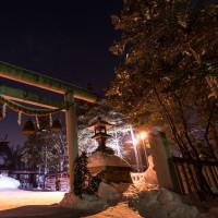 岩見沢神社へ初詣に行ってきました