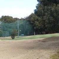 寒中のゴルフ場