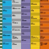 Perfume COUNTDOWN JAPAN 16/17タイムテーブル12月28日