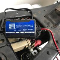 バッテリー死にました YTX20HL-BSへ
